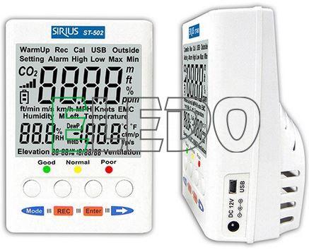 ST-502 Monitor kvality vnitřního ovzduší
